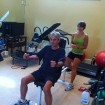 Rediscovering muscles with trainer