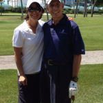Golf with Heather in Florida