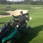 My Disability Medicare golf cart for Pebble Beach!